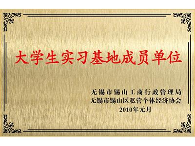 三立大学生实习基地成员单位证书